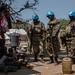 MINUSCA Peacekeepers from Zambia Patrol Birao