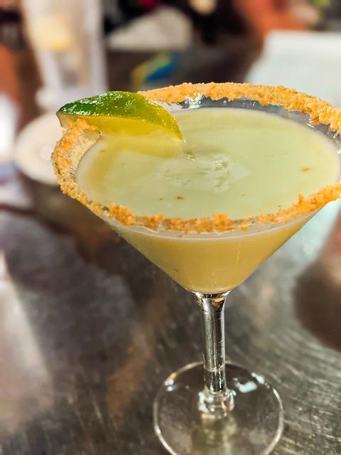 Key Lime Pie Martini at Conch Republic Seafood Company Key West Florida Keys 2020 1