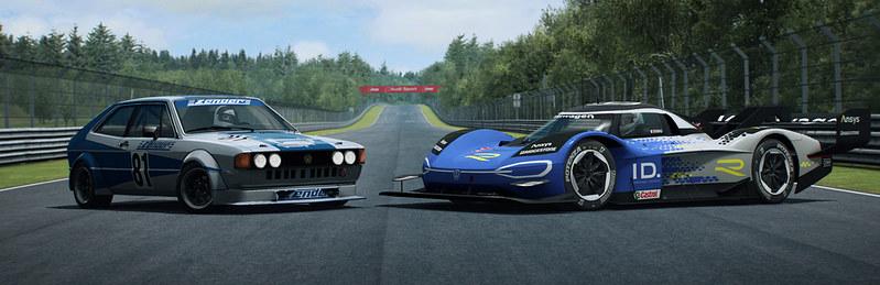 RaceRoom Volkswagen content