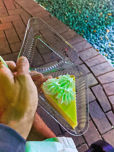 Key Lime Pie from Kermits Key Lime Pie Shop Key West Florida Keys 2020 2
