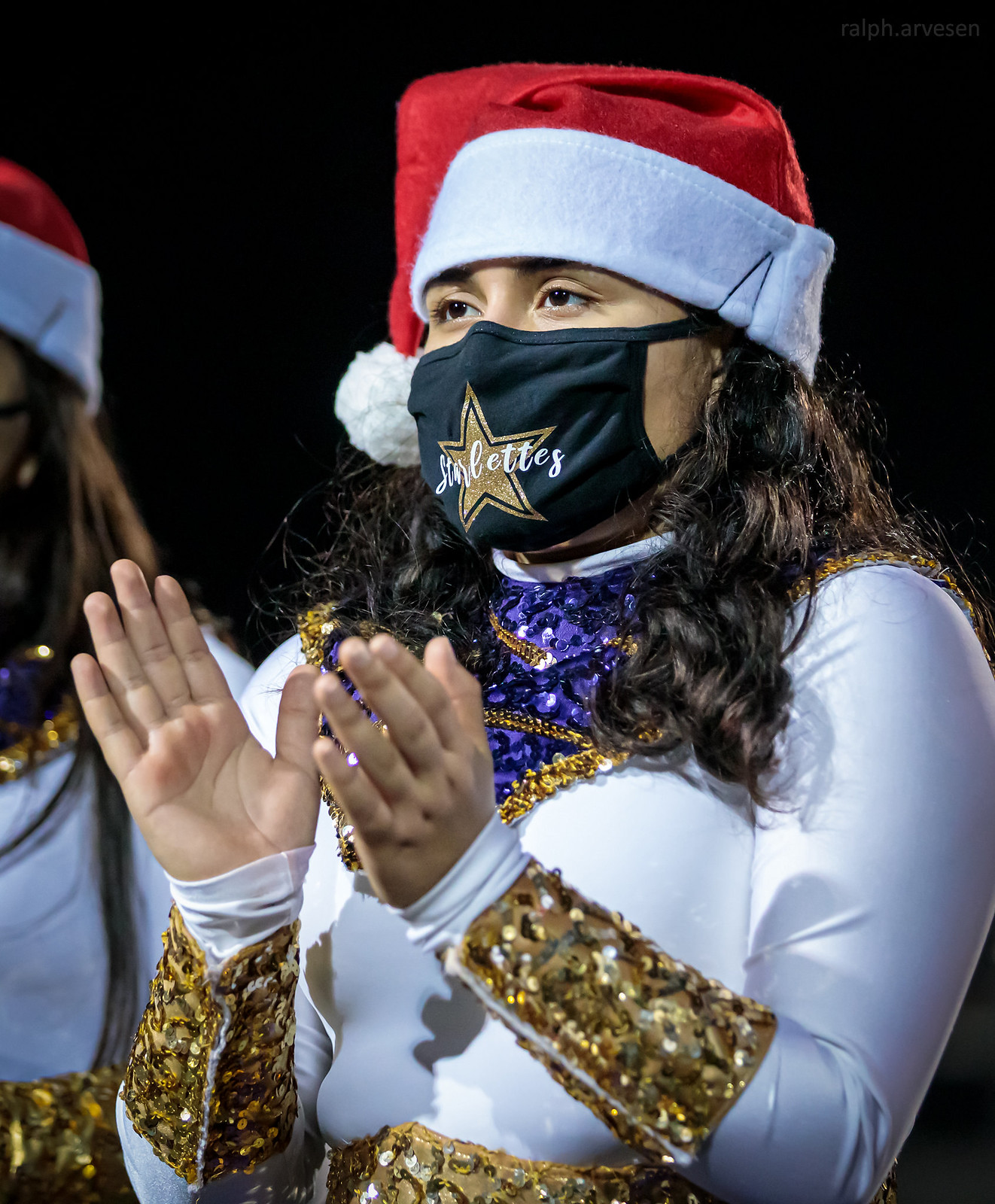 Marble Falls Marching Band and Starlettes | Texas Review | Ralph Arvesen