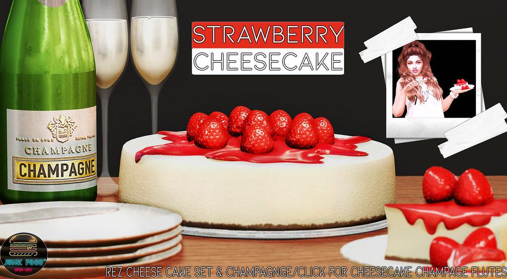Junk Food – Strawberry Cheesecake Ad