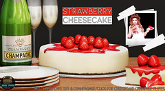 Junk Food - Strawberry Cheesecake Ad