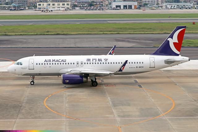 B-MCH  -  Airbus A320-232(WL)  -  Air Macau  -  FUK/RJFF 7/10/19