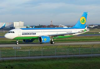 F-WWIO / UK-32023 Airbus A320-251N Uzbekistan s/n 10423 * Toulouse Blagnac 2020 *