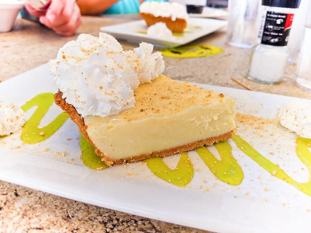 Key Lime Pie at Robbies of Islamorada Florida Keys 2020 2