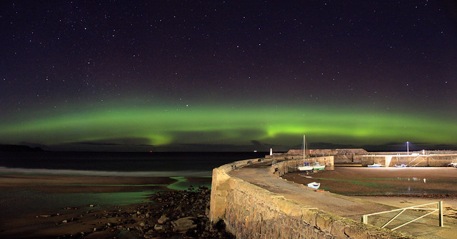 Last night's Northern Lights from NE Scotland