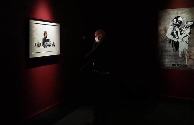 Banksy Admiración