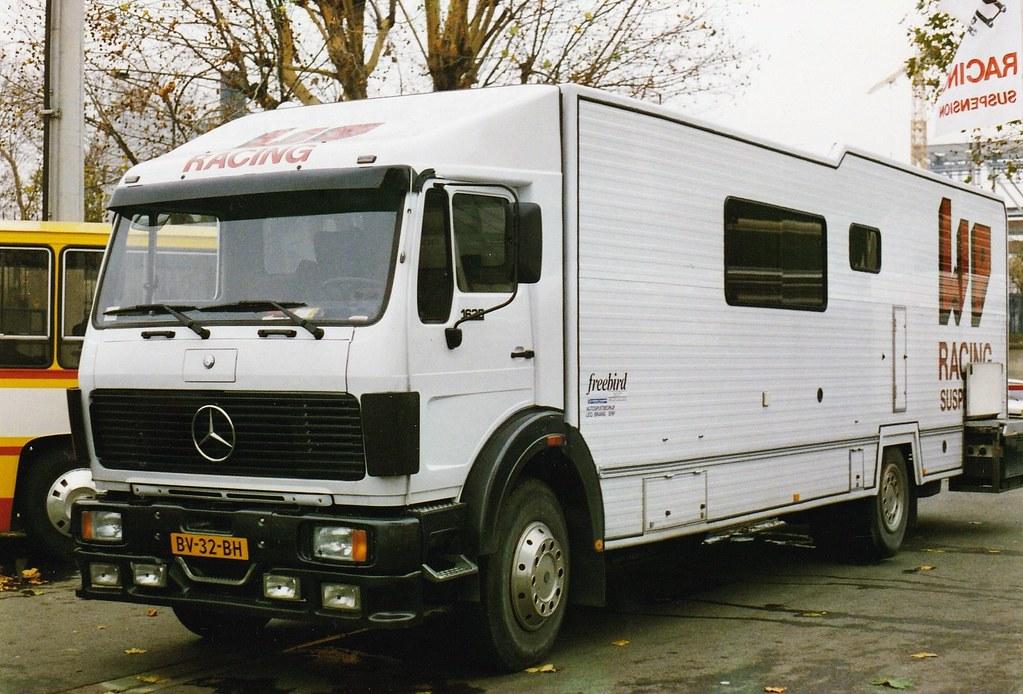 Mercedes-Benz NG1625 NL Pte de Versailles Paris 1988a