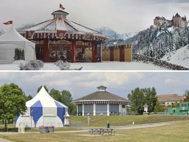 Where was Christmas Carousel filmed