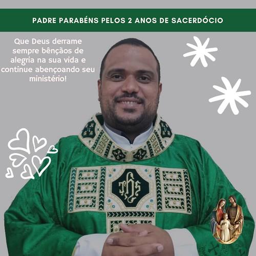 Aniversário de Ordenação de 2 anos do Padre Tiago