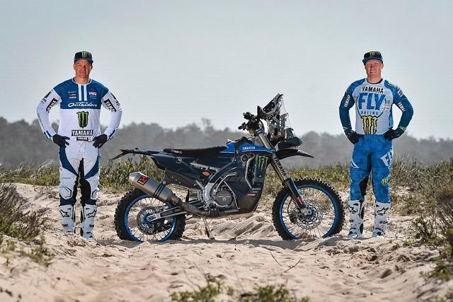 DAKAR 2021 - Monster Energy Yamaha Rally Official Team Welcome Andrew Short and Ross Branch