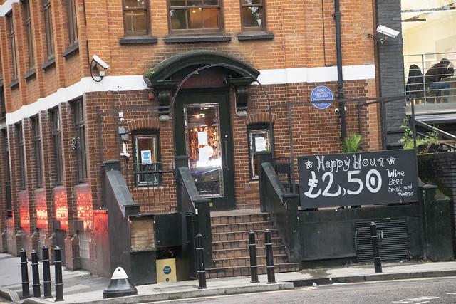 DSC_7984 Shoreditch London Hoxton Square Havanna Bar Happy Hour £2.50 Wine Beer Spirits and Mixers