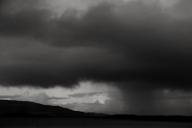 Shower over Scarba