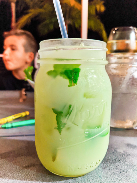 Coconut Key Lime Mojito at Angler and Ale Hawks Cay Resort Duck Key Florida Keys 2020 1