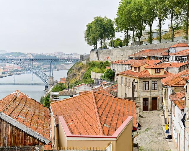Vistas de Oporto desde las Fointainhas