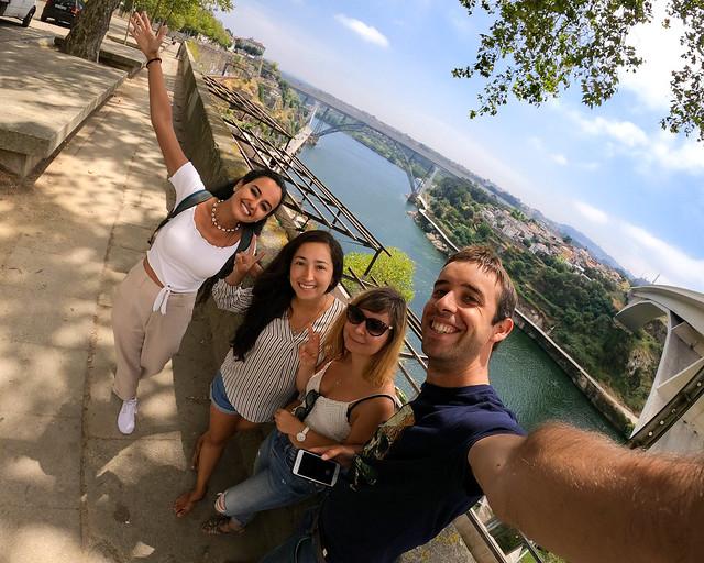 Mirador de las Fontainhas de Oporto