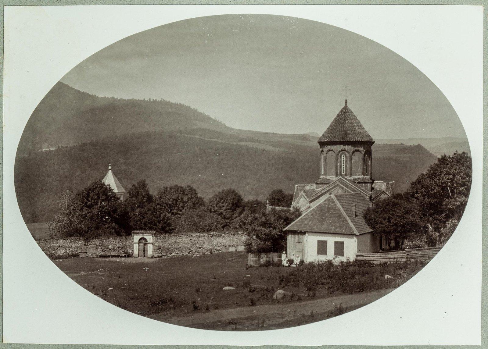 21. Вид на церковь в Тифлисской губернии