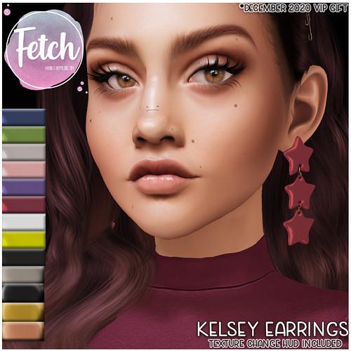 [Fetch] Kelsey Earrings @ VIP Group Gift!