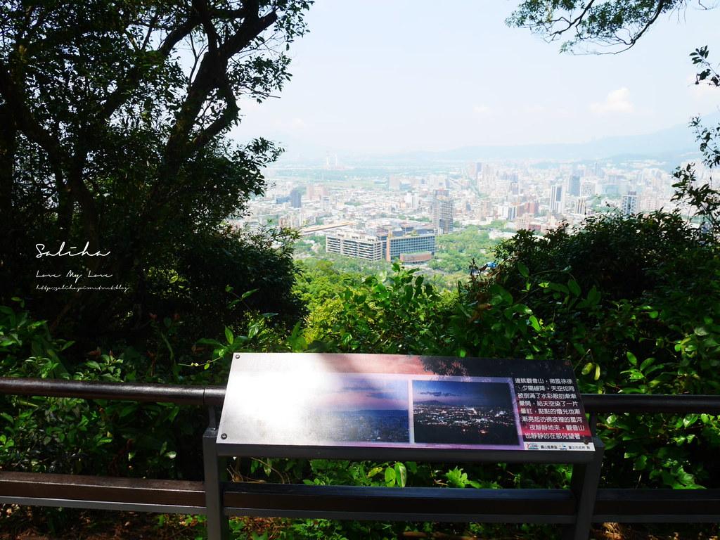 台北搭捷運可到步道登山踏青劍潭站附近景點推薦一日遊老地方觀機平台 (1)