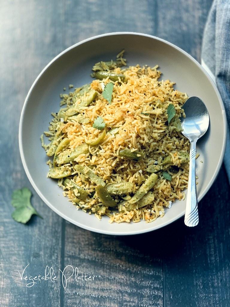 Maharastrian Tendli Bhaat | Ivy Gourd Rice