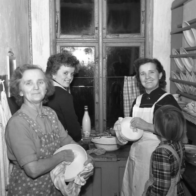 Christmas Eve 1953 | Aalborg, Denmark
