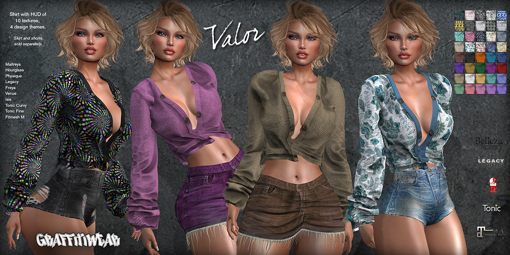 Valor Shirt Ad