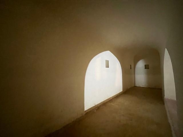 City Monument - Poet Rahim's Underground Crypt and the Restored Tomb, Hazrat Nizamuddin East