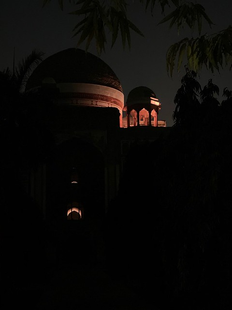 City Monument - Poet Rahim's Underground Crypt and the Restored Tomb, Hazrat Nizamuddin East