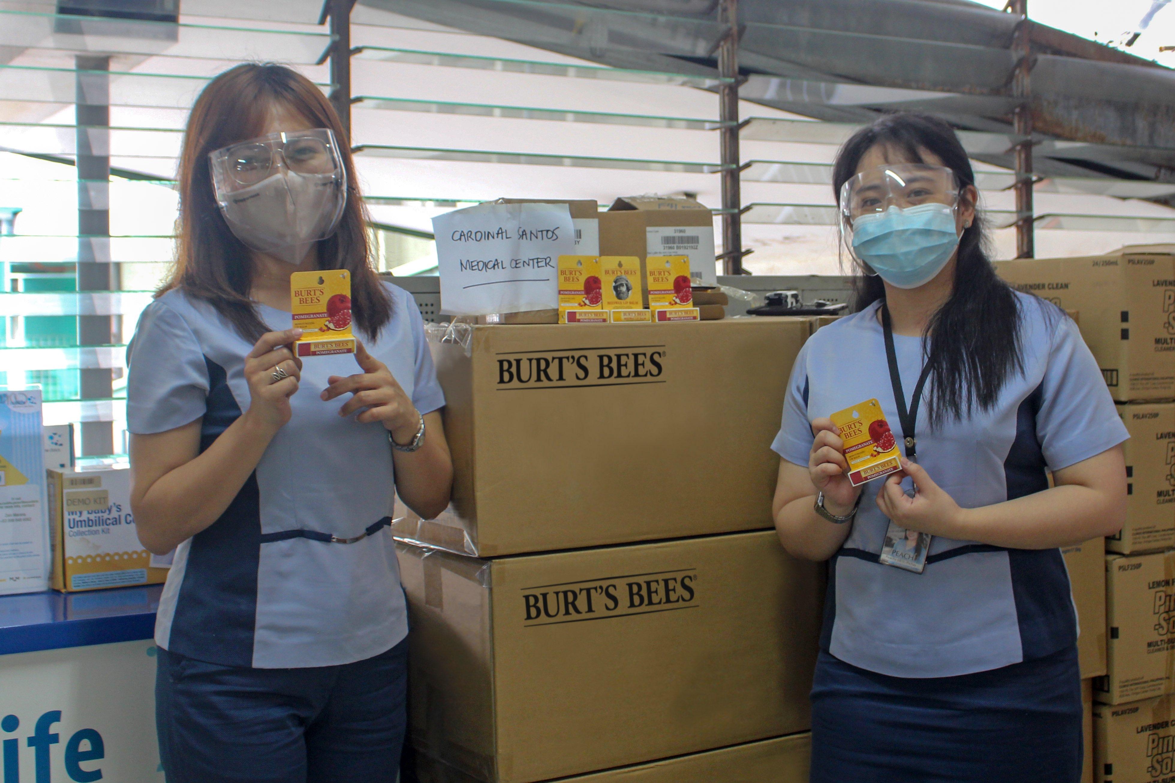 Burt's Bees donates 1,000 lipbalms to five hospitals