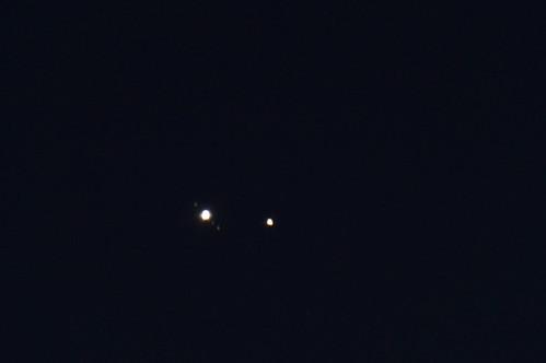 Jupiter-Saturn Conjunction (crop, 22 Dec 2020)