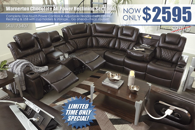Warnerton Chocolate Power Reclining Sectional_75407_2020