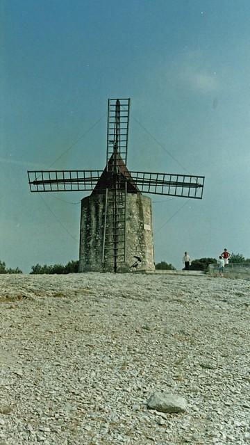 Camargue 2001 - Fontvieille - Moulin de Daudet