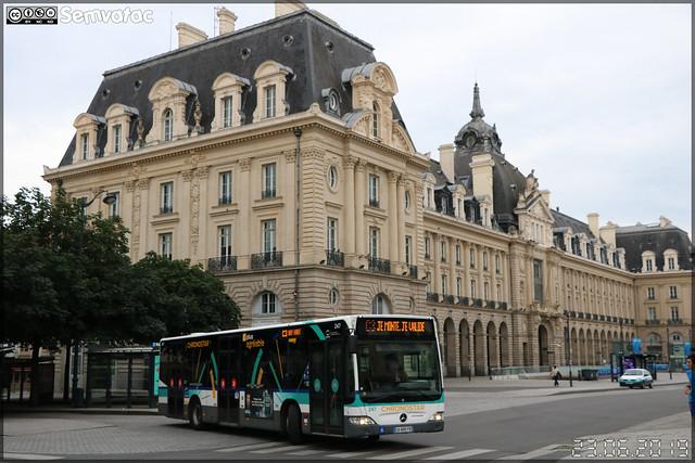 Mercedes-Benz Citaro – Keolis Rennes / STAR (Service des Transports en commun de l'Agglomération Rennaise) n°247