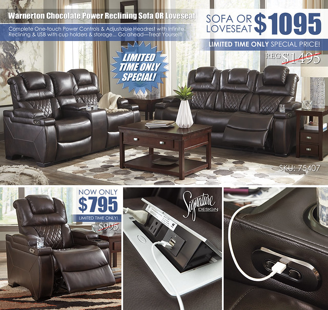 Warnerton Reclining Sofa OR Loveseat75407-15-18_2020