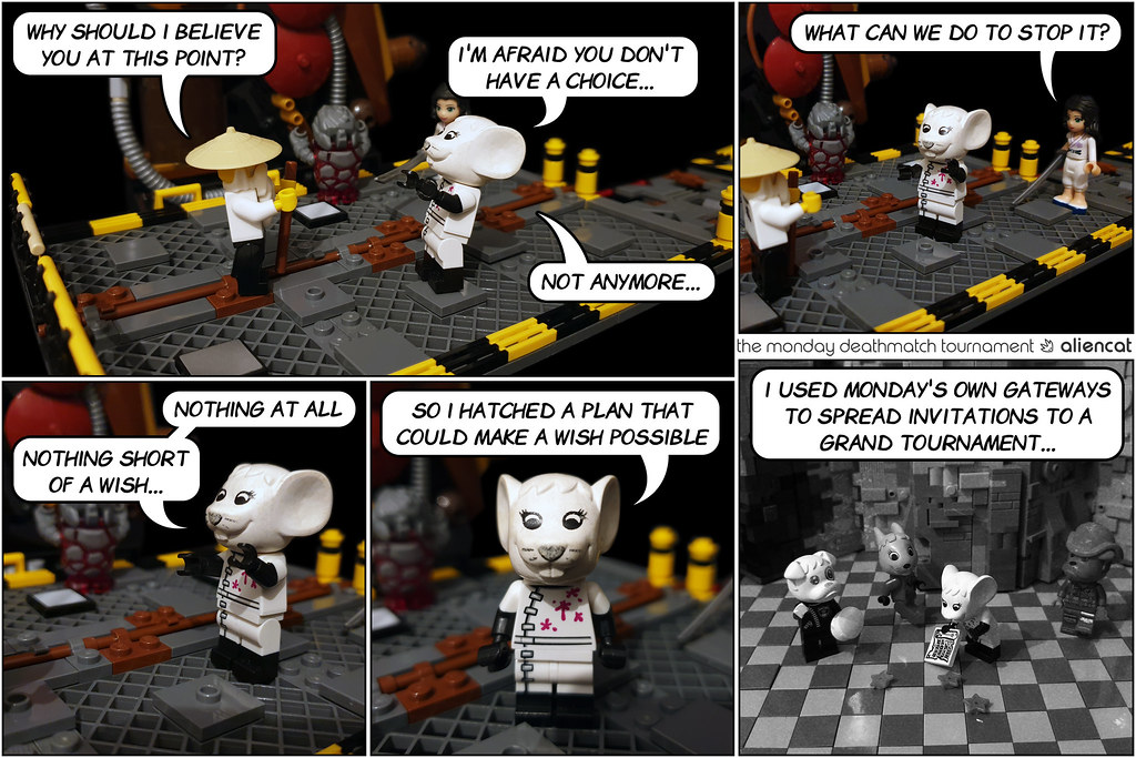 The Monday Deathmatch Tournament - Page 216: Nothing Short of a Wish