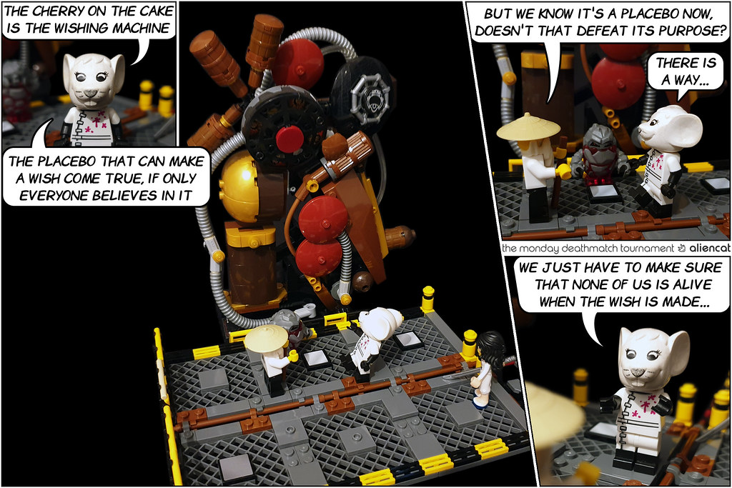The Monday Deathmatch Tournament - Page 217: The Wishing Machine
