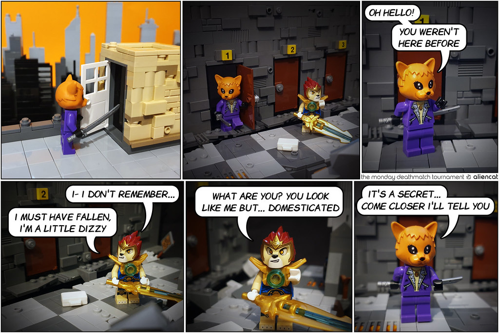 The Monday Deathmatch Tournament - Page 221: Domesticated?