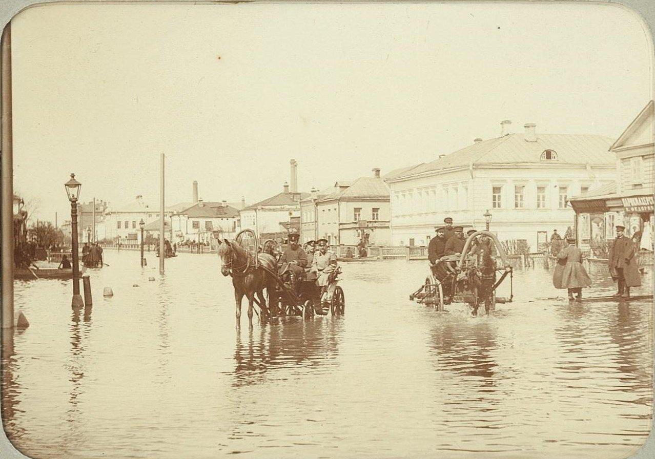 Наводнение 15-17 апреля 1895 года в Москве.