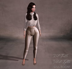 -siss boom-knit turtle and velvet tights ad