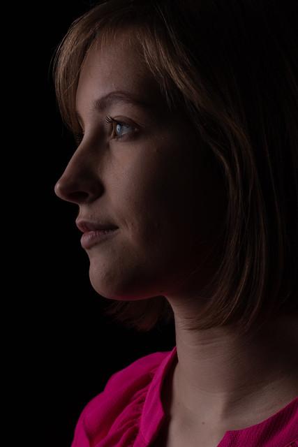 Laura in Profile