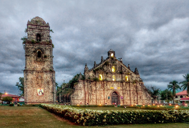St Augustine Church Paoay. Philippines.