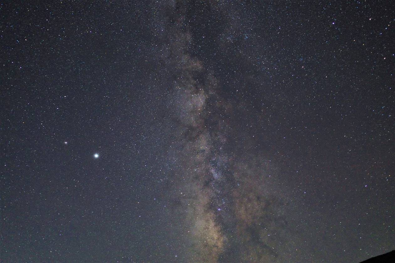 【東北】一切経山・浄土平からの星空