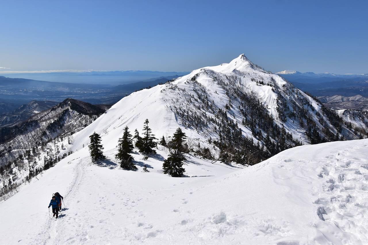 冬の上州武尊山~剣ヶ峰 雪山登山