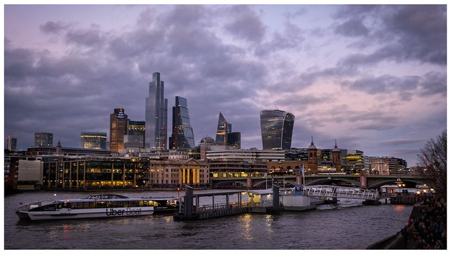 Bankside Pier and the City