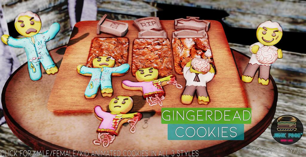 Junk Food – Gingerdead Cookies Ad