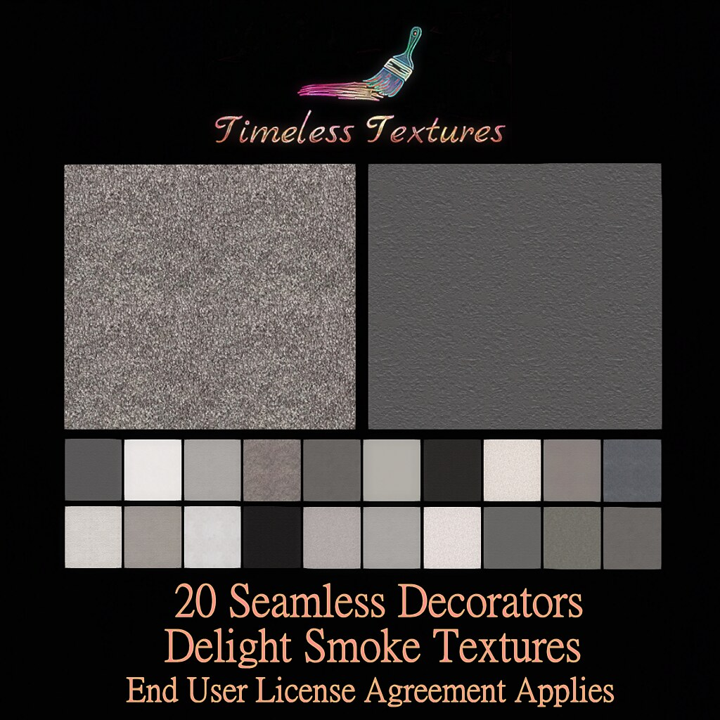 TT 20 Seamless Decorators Delight Smoke Timeless Textures