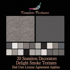 TT 20 Seamless Decorators Delight Smoke Timeless Textures