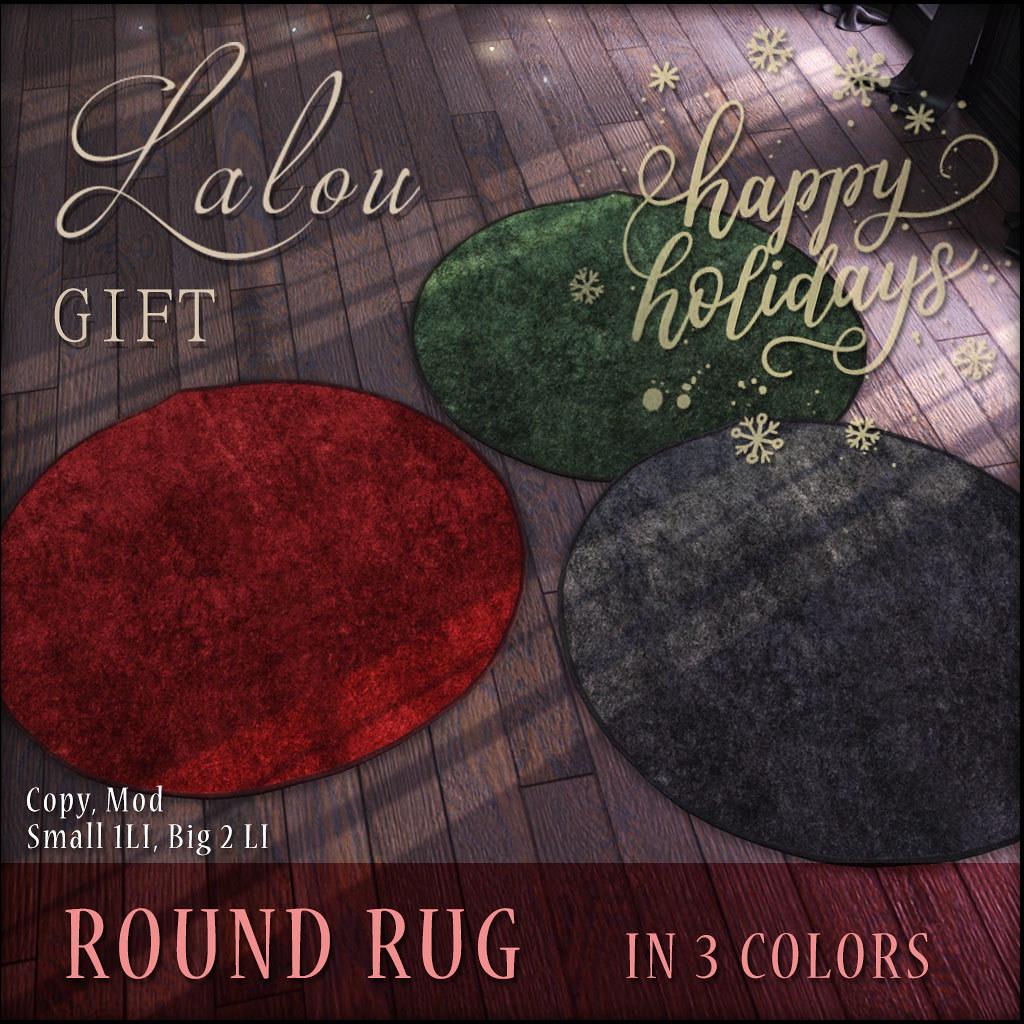 Lalo Round Rug – GIFT Cosmopolitan