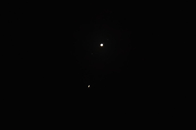 Grand conjunction: Jupiter and Saturn, 23 Dec 2020, Sydney, Australia